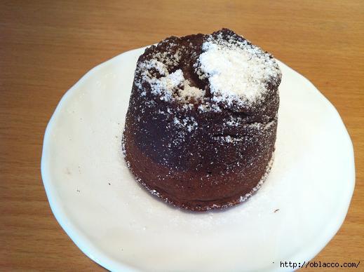 Фондан шоколадный десерт1