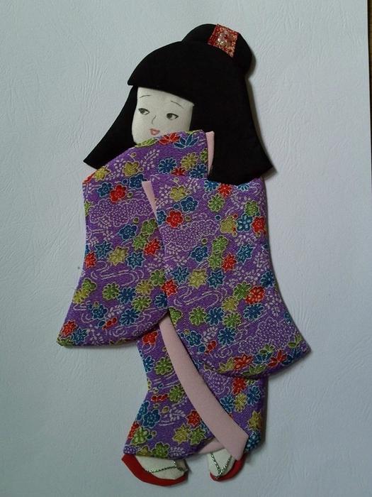 Японская кукла мастер класс сделай сам #10