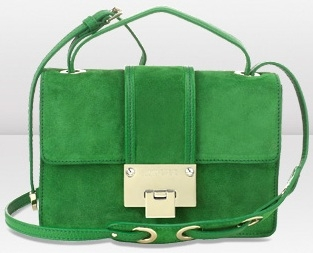 Jimmy Choo Rebel Emerald Suede Cross Body Bag (313x253, 49Kb)