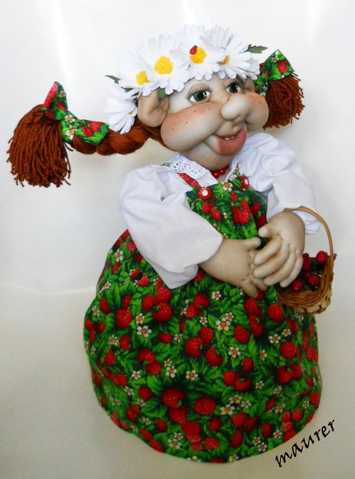 Грелка на чайник своими руками мастер класс кукла 87
