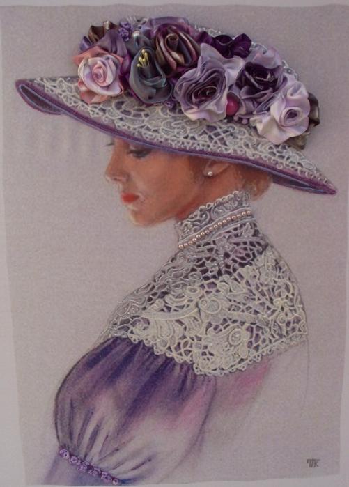лиру Татьяна вышивка лентами30 (501x699, 363Kb)