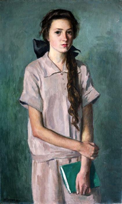 Девочка с книгой  1927 (421x700, 77Kb)