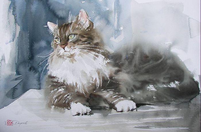 К. Стерхов  кот (700x462, 53Kb)