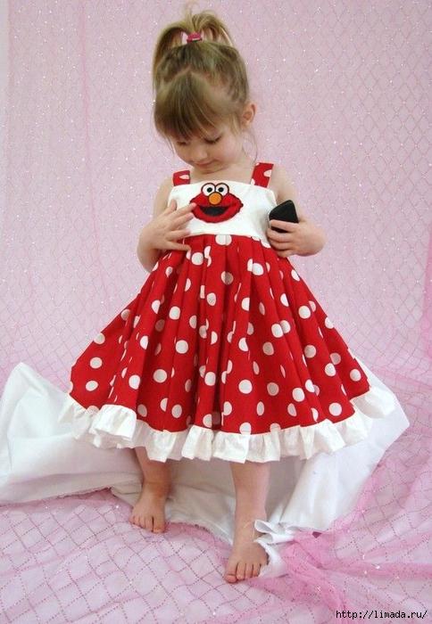 Платье для девочки нарядное 2 года с выкройками фото 437