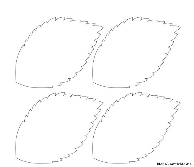 Букет ГОРТЕНЗИИ ИЗ БУМАГИ. Шаблоны для распечатки (10) (661x569, 55Kb)