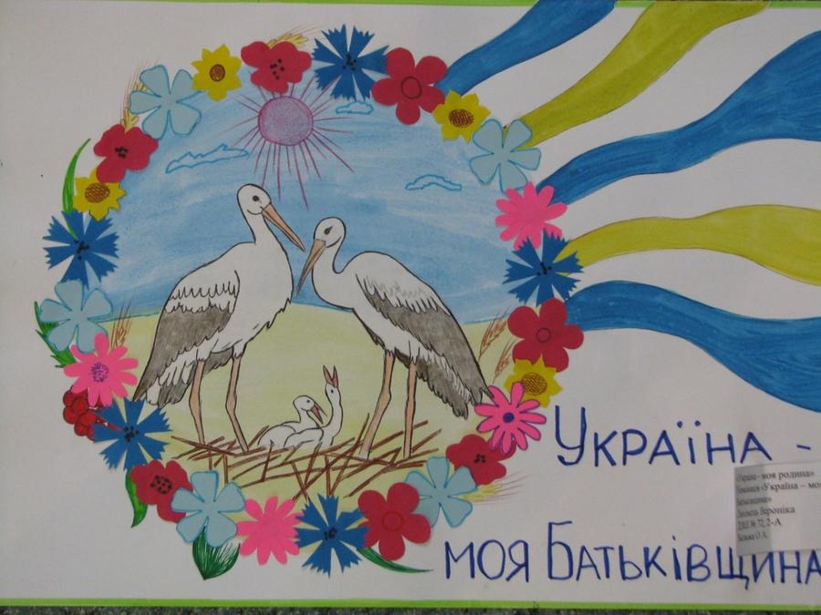 поменять рисунок моя украина карандашом потому