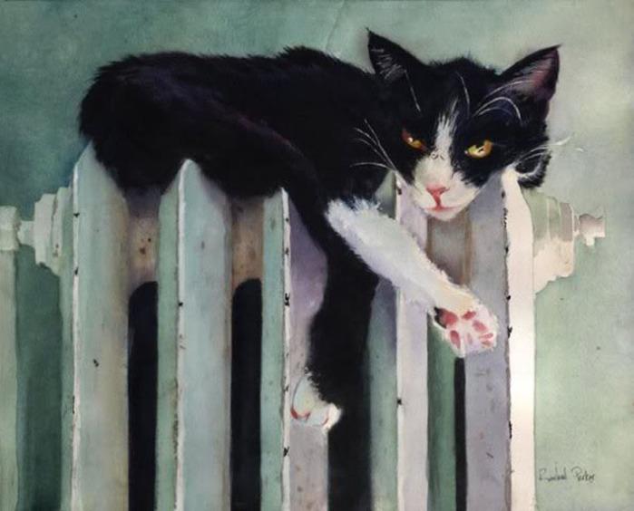 Кошачьи акварели Rachel Parkerx_ae095633 (700x564, 84Kb)
