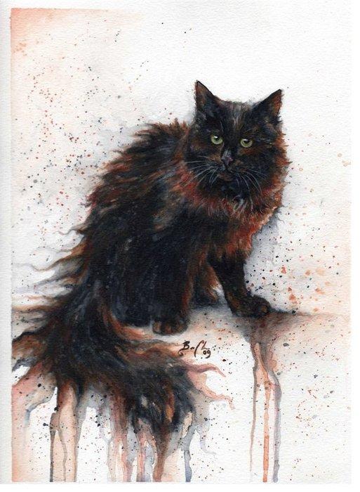 Cats by Braden Duncan. (513x700, 77Kb)