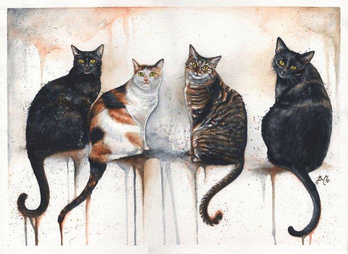 Cats by Braden Duncan.9 (700x511, 82Kb)