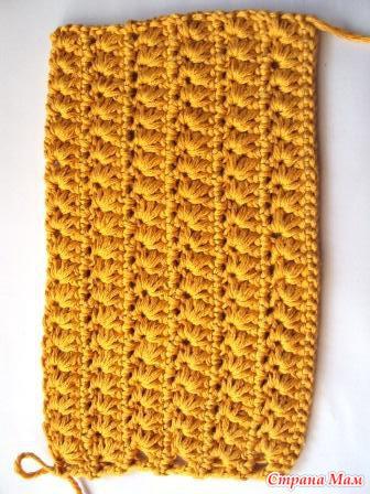Основа юбки - это сетка, а на нее навязываются оборочки, думаю подойдет  схема оборки от платья Мануэла. Сначала вязать сетку (1 ст н, 2в. п, 1ст н  и т. д. 2f589052115