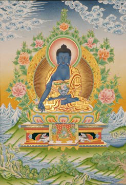 Будда медицины - Бхай-шаджья-гуру (246x360, 60Kb)