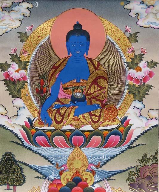 Синий будда (533x643, 128Kb)