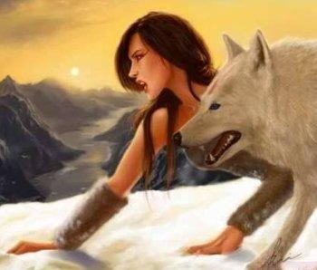 люди волки фото