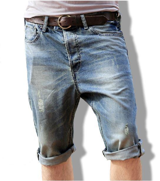 фото мужские джинсовые шорты