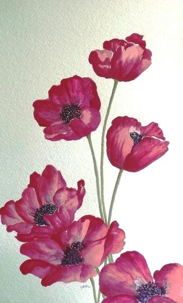 красивые цветы рисунки картинки