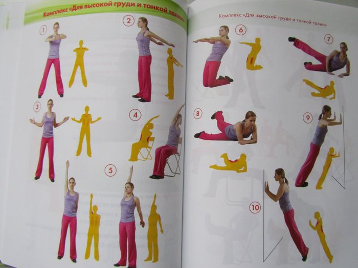 Упражнения для похудения с дыханием видео