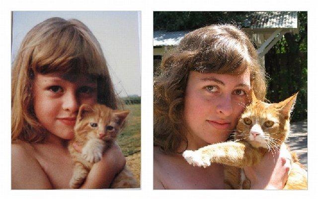 Я молодой и я сегодня (50 парных портретов-фотографий)