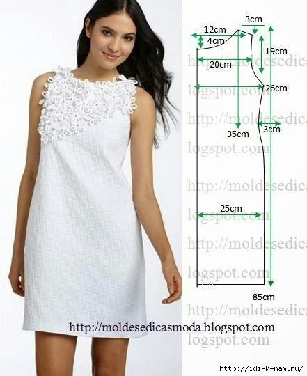 3efbb857c73 выкройка летнего платья - Самое интересное в блогах