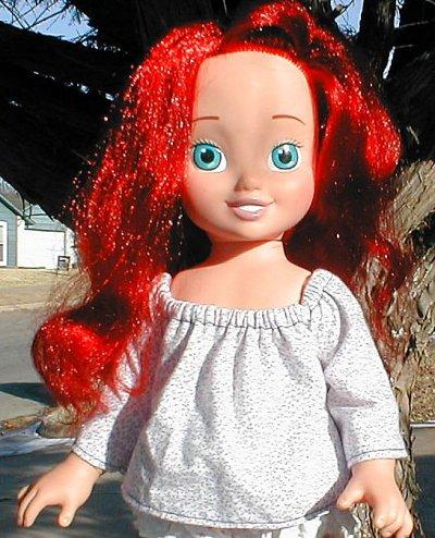 блузка для кукол