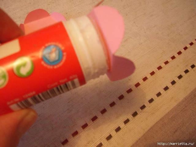 Для творчества с детьми. Ваза с цветами из бумаги (6) (640x480, 128Kb)