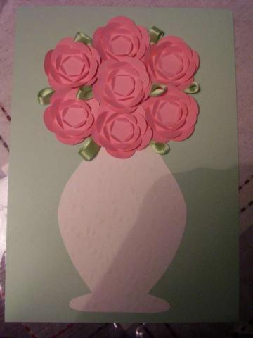Для творчества с детьми. Ваза с цветами из бумаги (16) (360x480, 76Kb)
