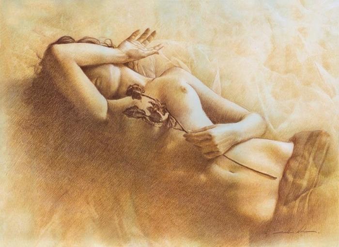 Сексуальная живопись walter girotto