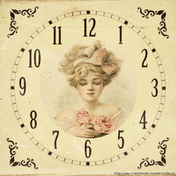 мега картинки циферблатов часов для декупажа маккохью