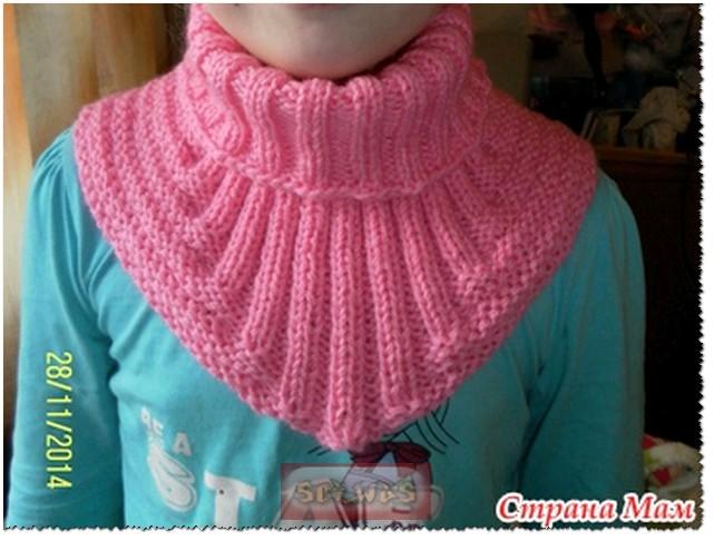 шарфы манишки снуды спицами записи в рубрике шарфы манишки