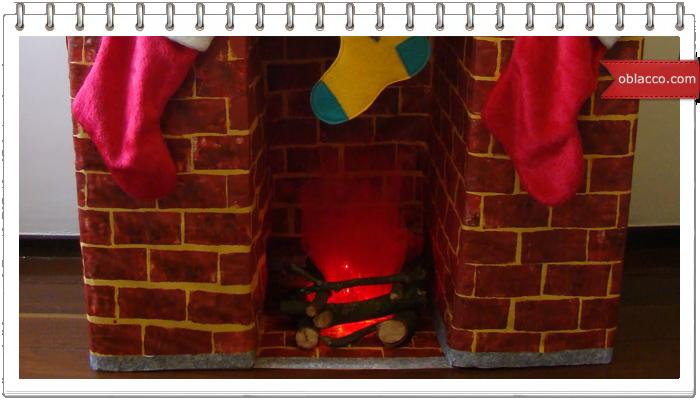 Новогодний камин-обманка из картонных коробок/3518263_ (700x400, 380Kb)