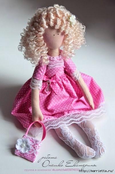 Шьем куклы мастер класс сделай сам #4