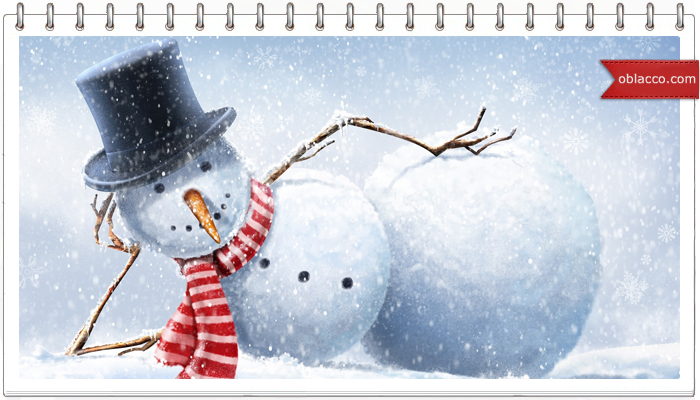 Снеговик из газетных трубочек. Мастер класс