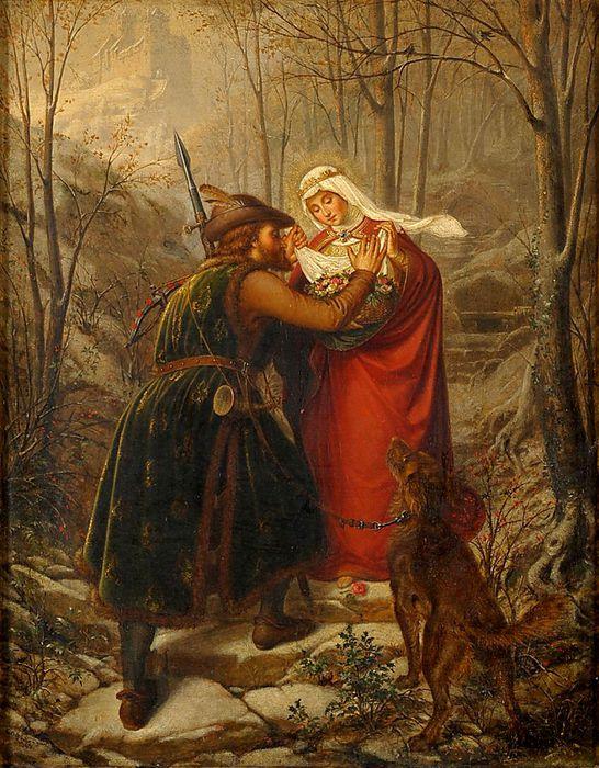 Святая Елизавета и чудо с розами