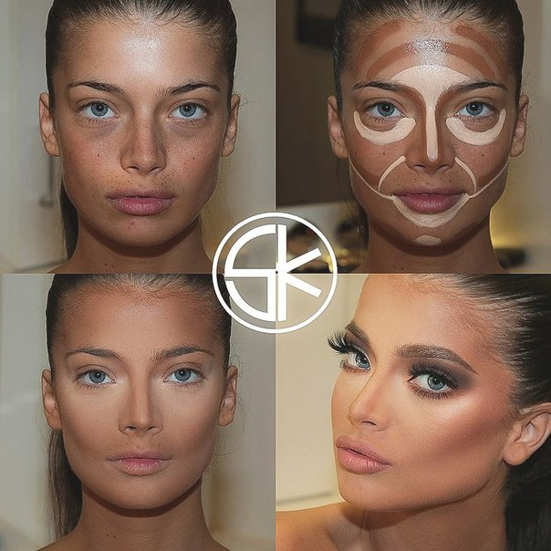 Как правильно наносить макияж от а до я: фото, видео 48