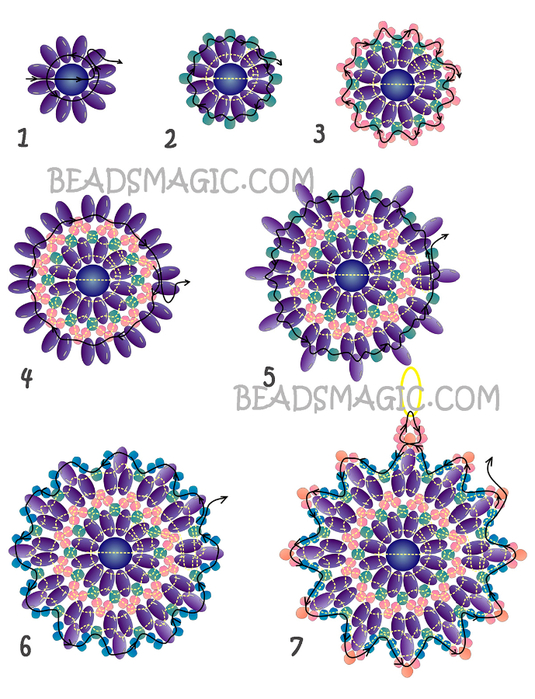 free-pattern-earrings-tutorial-2 (535x700, 399Kb)
