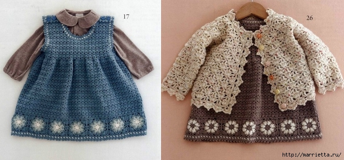 одежда крючком для детей до 12 месяцев японский журнал обсуждение