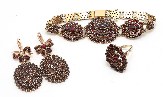 ювелирные украшения из граната - Самое интересное в блогах babc6e3d315