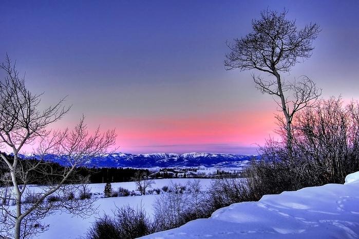 Красивый Зимний Пейзаж Фото На Рабочий Стол