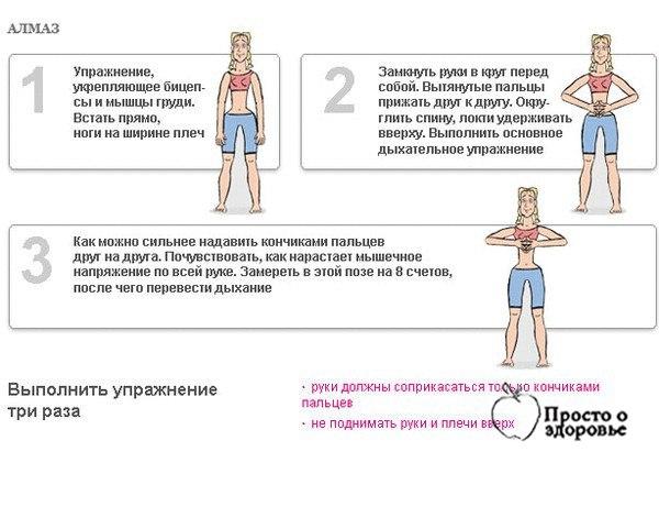 техника для дыхание для похудения