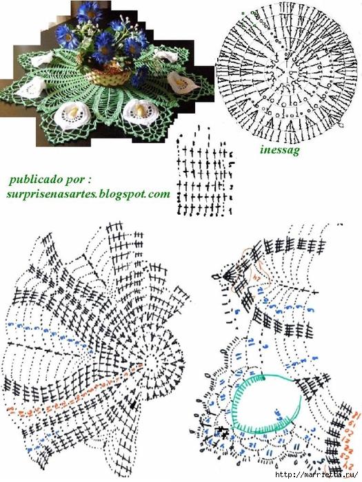 flores de ganchillo pañito ronda de cala (4) (525x700, 313KB)