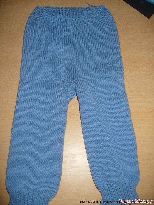 вязание спицами штанишек от берсановой