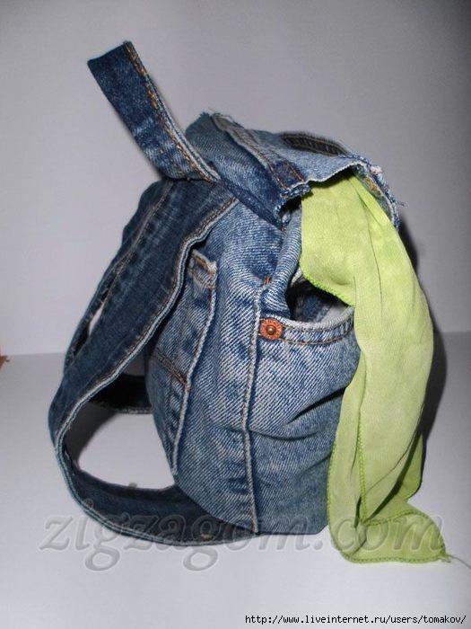 Выкройки рюкзаков из старых джинсов рюкзак десантный вьюк