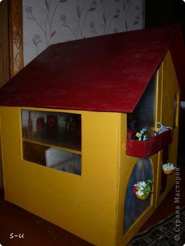 Как сделать домик для кукол своими руками