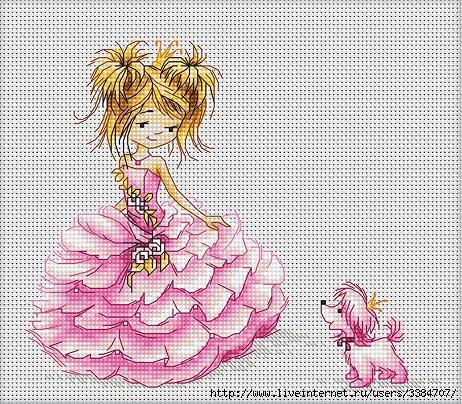Принцесса с собачкой. Обсуждение на LiveInternet ...