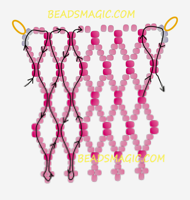 free-beading-tutorial-pattern-instructions-2 (666x700, 297Kb)