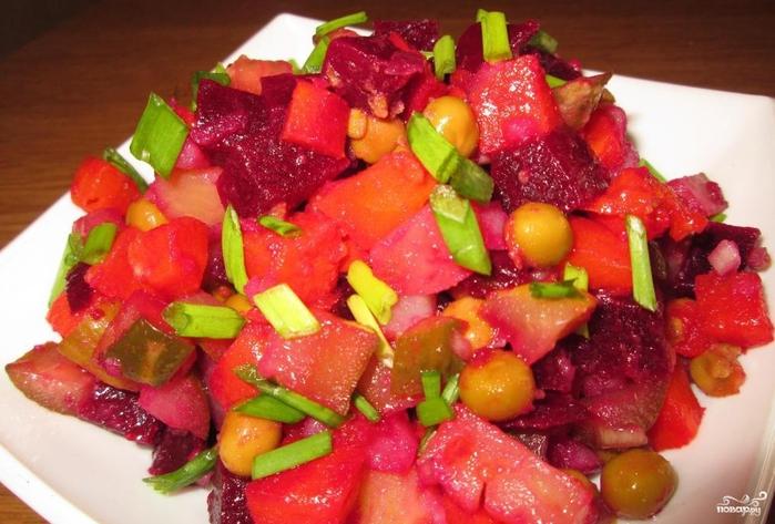 Легкие рецепты салатов на каждый день