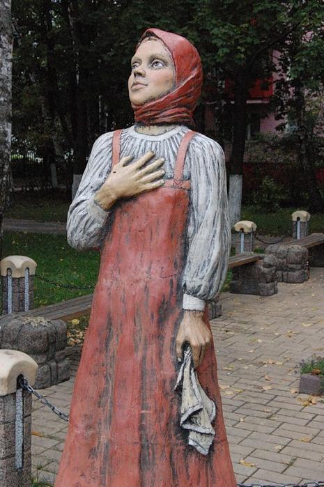 Фото скульптуры аленушка на черном море