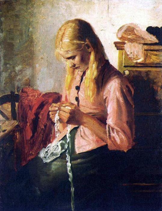 Описание: Вязаняие крючком, история вязания.