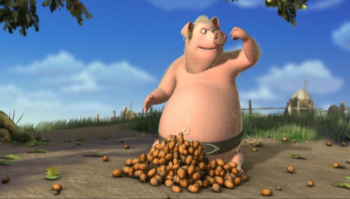 картинки свинья ест желуди ароматы, мелькающие