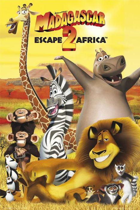Игра Madagascar Escape 2 Africa (Игра Мадагаскар 2.