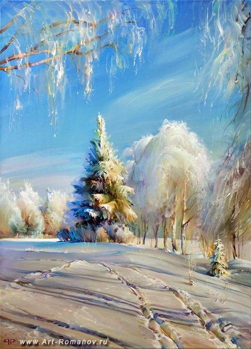 А моя зима нравится Вам?  С теплом.  Анатолий Решетников.